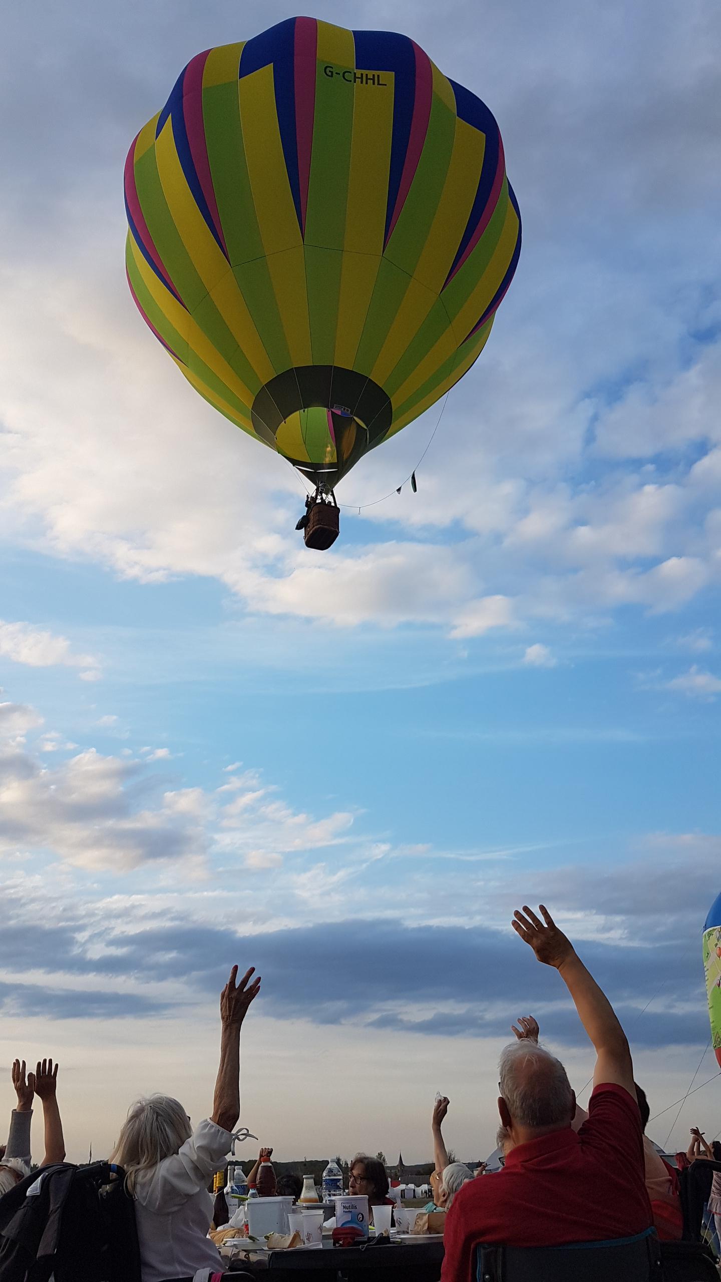 Photo Sortie air ballon