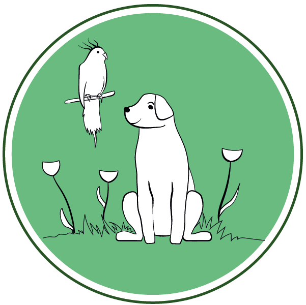 Bouton Jardins et animaux
