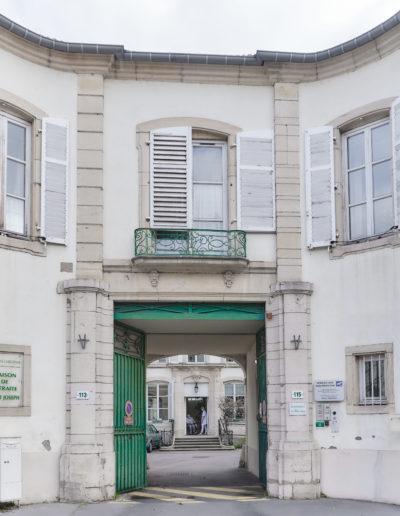 Photo de l'entrée sur rue