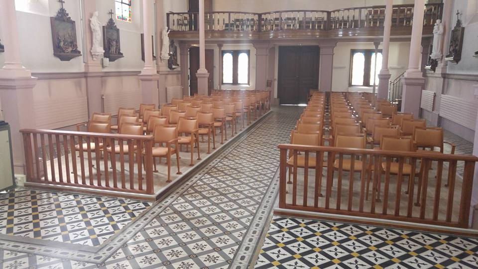 Autre photo de l'intérieur de la chapelle chapelle