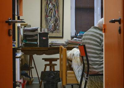 Photo d'un Résident dans sa chambre