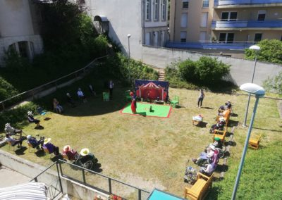 Photo d'un Spectacle jardin