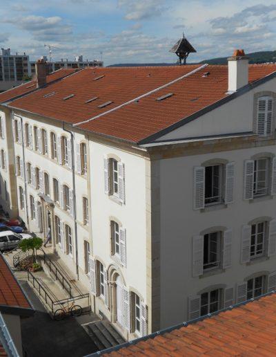 Photo Vue des toits sur entrée